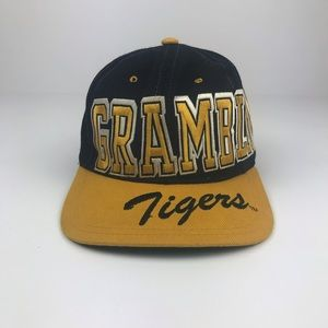 Vintage Grambling Tigers Spell Out Embroidered